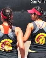 USC's Olmos & Scandalis Will Fight For ITA All-American Doubles Title