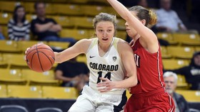 Leonard Leads Buffs To 66-52 Win Over UNLV In WNIT First-Round
