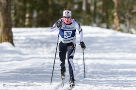 Skiers Move Into Third At Midway Point Of NCAA Championships