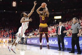 No. 3 @SunDevilHoops (12-1) Fall In Up-And-Down Game, 84-78