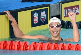 Baker Does It Again, Wins 200 IM