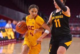 USC Women Fall Short In Comeback Effort Against ASU