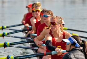 USC Women's Rowing Competes at Lake Natoma Invitational