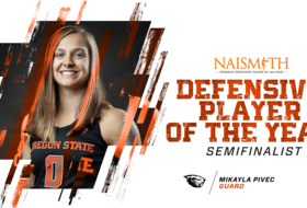 Pivec Selected as Semi-Finalist for Naismith Defensive Player of Year