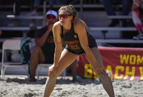 No. 5 USC Beach Splits Second Day at Pac-12 South Invitational