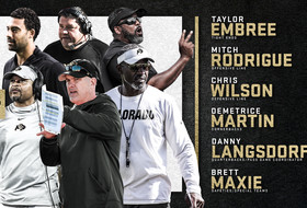 Dorrell Completes His Inaugural CU Football Staff