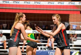 Beach Volleyball Drops Two Matches at Pac-12 Championships on Thursday