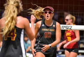 Two @SunDevilBeachVB Duos Competing at USA Volleyball Collegiate Beach Championships