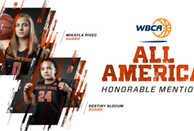 Pivec, Slocum Earn All-America Honorable Mention