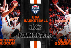 Slocum, Goodman to Compete in 3x3 Championships