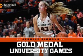 Simmons, Australia Claim Gold at University Games
