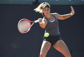 USC Women's Tennis Victorious In Both Matches of Friday Doubleheader