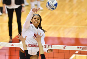 Volleyball Battles in Bohler But Loses 3-1 to No. 2 Stanford