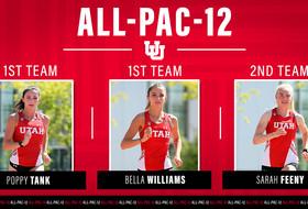 Trio of Ute Runners Earn All-Pac-12 Honors