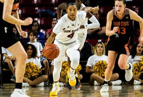 @SunDevilWBB Works Overtime to Defeat Idaho State