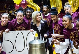 Turner Thorne Earns 500th Career Win After No. 19 @SunDevilWBB's Triple OT Triumph Over USC