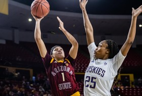 Richardson Sets Career Assists Record in @SunDevilWBB's Win Over Washington