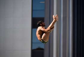 Selim Sets PR and Qualifies for NCAAs in Three-Meter