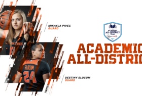 Pivec, Slocum Named Academic All-District