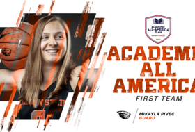 Pivec Selected as Academic All-American
