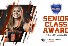 Pivec Named Senior CLASS Award All-American