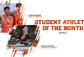 Hocker, Sutton Named Student-Athletes of the Month