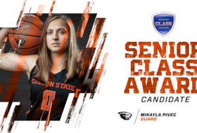 Pivec Named Senior CLASS Award Candidate