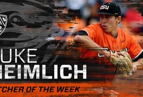 Luke Heimlich Named Pac-12 Pitcher Of The Week