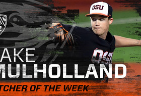 Jake Mulholland Named Pac-12 Pitcher of the Week