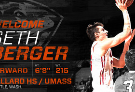 Seth Berger Joins Men's Basketball Program