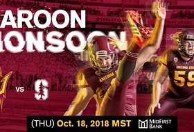 Tickets Now on Sale for Sun Devil Football's Maroon Monsoon Game vs. No. 7 Stanford