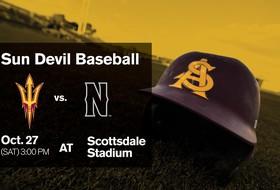 Sun Devil Baseball Takes on CSUN Saturday in Fall Exhibition
