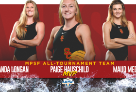 Paige Hauschild Named MPSF Tournament MVP