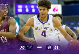 Huskies Get Past Seattle Pacific, 70-61, in Exhibition Contest