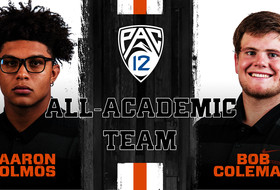 Olmos, Coleman Earn Pac-12 All-Academic Honors