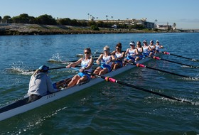 UCLA Rowing Edged by USC in Marina del Rey