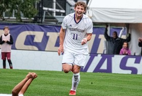 Parish's Quick Brace Gives UW 3-1 Win at Oregon State
