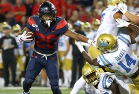 Arizona Holds On To Beat UCLA, 20-17, Behind Gunnell, Smith