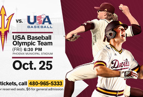 Sun Devil Baseball Welcomes Team USA in Fall Exhibition