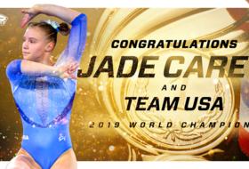 Jade Carey, Team USA Win Gold at World Championships Team Finals