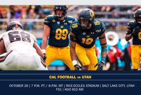 Cal Looks To Bounce Back At Utah