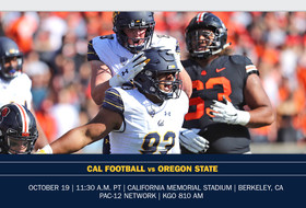 Cal Welcomes Oregon State For Homecoming