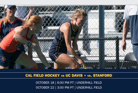 Cal Returns To Berkeley For Two Conference Games