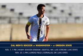 Cal Plays No. 1 UW, OSU In Pacific Northwest
