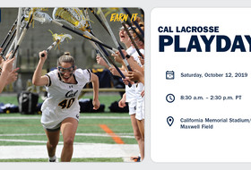 Cal Lacrosse Hosts Playday Saturday