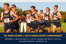 Bears Head To Monmouth for Pac-12 Championships