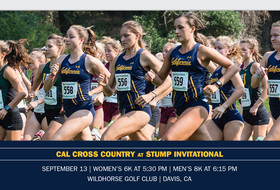 Cal Heads North For Stump Invitational