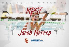 Jacob Mercep Named MPSF Player of the Week