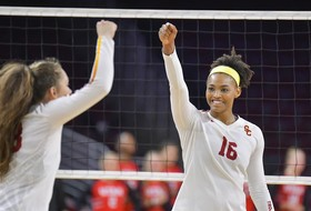 USC Women Take Down Colorado in Four-Set Home Win