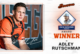 Adley Rutschman Receives 2019 Dick Howser Trophy